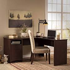 Home office furniture cherry Hutch Shaped Wood Desk Large Work Space Open And Closed Storage Box Drawer Nutritionfood Amazoncom Shaped Wood Desk Large Work Space Open And Closed