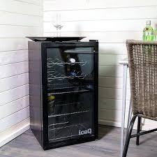 glass fridge door second hand double