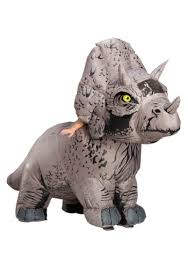 Jurassic World 2 Inflatable <b>Triceratops Costume</b> for Adults