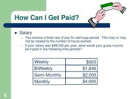If You Get Paid Semi Monthly Earning Income How Can I Get Paid Ppt Download