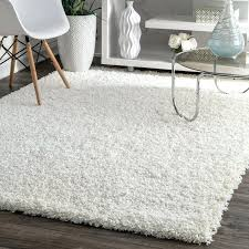 fluffy white rug white area rug