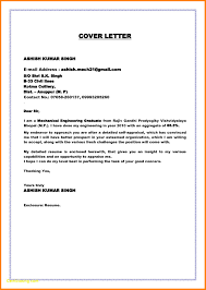 Mechanical Engineering Cover Letters Sample Cover Letter Chemical
