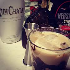 Pour into a jar and store in the refrigerator until you're ready for a tasty coffee creamer. Today S Drink Is Iced Rum Chata Mocha Recipe Now Available On My Igtv Channel Rumchata Vanilla Coffee Vodka Rumchata Recipes Rumchata Sweet Cocktails