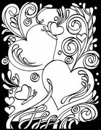 True Love Stained Glass Coloring Book Doodles Coloring Pages