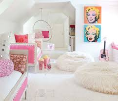 cool hanging chairs for teenagers rooms. Pink Daybeds Contemporary Girl S Room Bear Hill Interiors Intended For Chairs Girls Prepare 16 · Creative Of Teen Hanging Cool Teenagers Rooms M