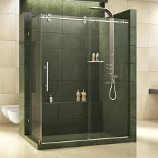 frameless sliding shower door hardware. Sliding Glass Shower Doors Enigma X Single Door With Technology Barn Style Frameless . Hardware