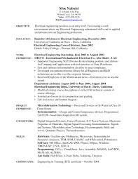 Resume Objective Examples Entry Level Engineering New Entry Level ...