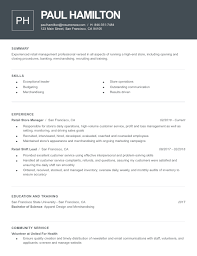 resume templates 2019s best resume templates by category resume now