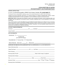 Promissory Note Templates Word Promissory Note Template New Convertible Loan Best Of Word