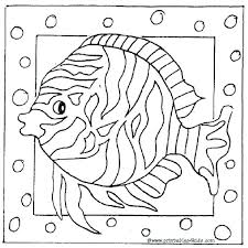 Fish Coloring Pages For Adults Fish Coloring Pages For Adults In