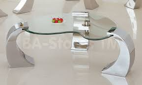 Metro Chrome Coffee Table