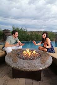 Outdoor Table With Firepit