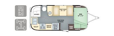 Floorplans - Flying Cloud 20FB