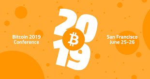 The biggest bitcoin and crypto influencers in the industry will be speaking at bitcoin 2019. Bitcoin 2019 June 25 26 San Francisco