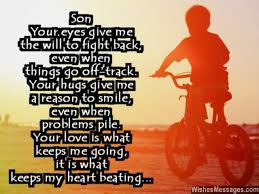 My Beautiful Son Quotes Best of Birthday Wishes For Son Quotes And Messages WishesMessages