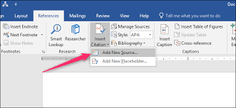 How To Do Apa Format In Word How To Automatically Add Citations And Bibliographies To