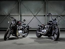 triumph unveils bonneville bobber motorcycle cruiser