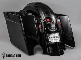 bad dad custom bagger parts for your bagger fender with flush