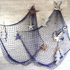 Decorative Fish Netting Aliexpresscom Buy Hot Sale Home Decorative Fishing Net Tropical