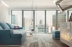 Blue white living room | Interior Design Ideas.