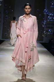 Payal Pratap Fashion Designer Ivory And Pink Jacket Style Tunic Label Carma Label Payal Pratap