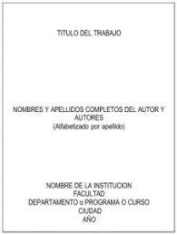 Normas Icontec 2019 Para Trabajos Escritos Tutorial Y Plantilla