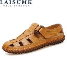 <b>LAISUMK Summer Men Sandals</b> 2018 Leisure Beach <b>Men Shoes</b> ...