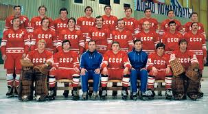 Image result for the Soviet team at the Olympic Winter Games in Lake Placid