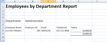 Sample Excel Document Creating Excel Templates