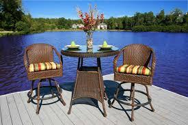 tortuga outdoor sea pines wicker bar table