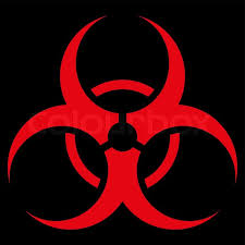 Image result for bio hazard symbol