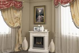 to decorate a corner fireplace