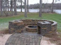 diy backyard fire pit ideas patio tutorial rahu co throughout build outdoor propane prepare 6