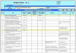 Programme Plan Template Chanceinc Co