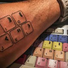 Heres One Way To Remember Those Keyboard Shortcuts Tattoo Them On