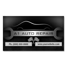 Wrench Mobile Mechanic Auto Repair Business Cards Miscdesign