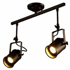 vintage track lighting. Brightness Vintage Track Ceiling Light Fixture, 2-LIGHT Industrial For  Living Room, Dining Vintage Track Lighting