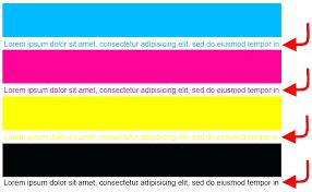 Colour Printer Test Page Pdf Full Color 6 Print Black Cyan Magenta