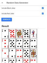 How To Make A Card Shuffler App With Multiple Decks And Filters