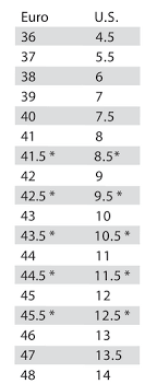 Specialized Clothing Size Chart Comp Road Shoes Wide
