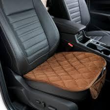 front car chair pad anti skid pad universal car seat cushion plush seat covers soft