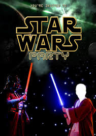 kids party invitations star wars party invitation self edit star wars printable invitation edit your own