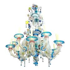 venetian glass chandelier glass chandelier parts for chandeliers the antiques diva x 1 antique