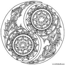 Small Picture Lion Mandala Coloring Pages Coloring Pages