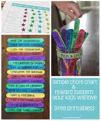 simple chore and reward system your kids will love simple chore and reward system your kids will love printables clean mama