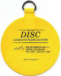 the original invisible disc adhesive