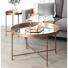 round glass coffee table and laurel metal glass round mirrored coffee table free today round glass coffee table