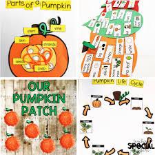 Pumpkin Venn Diagram Its Pumpkin Time Made For Me Literacy For October