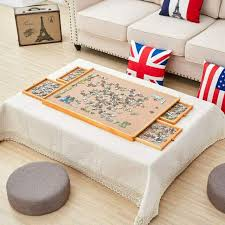 puzzle table jigsaw storage board