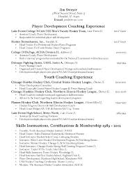 High School Coaching Resume In Georgia Sales Coach Lewesmr Hockey Coach  Resume Cover Letter Baseball Coaching